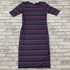 3For$20 LulaRoe Maxi Purple Dress size s